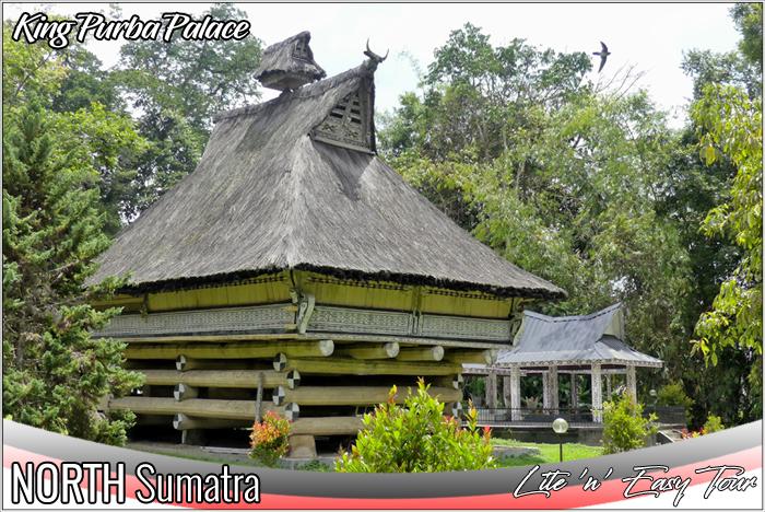 rumah bolon pematang purba king purba palace simalungun