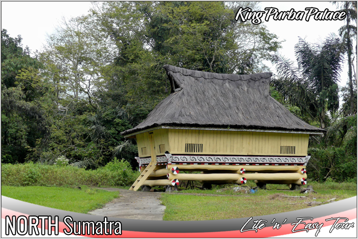 rumah bolon purba simalungun - king purba palace