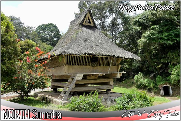 rumah bolon simalungun - king purba palace