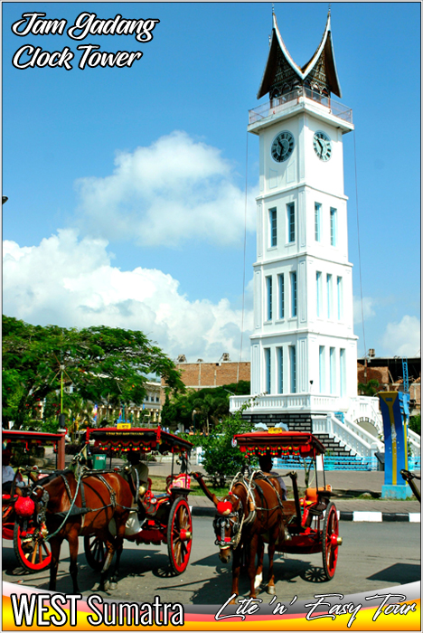 Jam Gadang - Clock Tower Bukittinggi West Sumatra