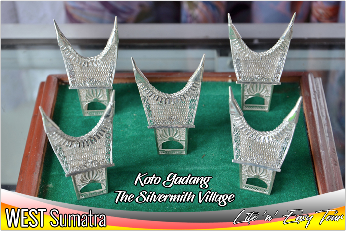 Koto Gadang Silver Smith Village Bukittinggi West Sumatra