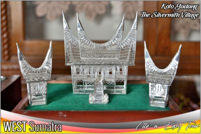 Koto Gadang Village - The Silver Smith Bukittinggi West Sumatra