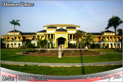 Maimun Palace Medan Sultanate Deli Indonesia