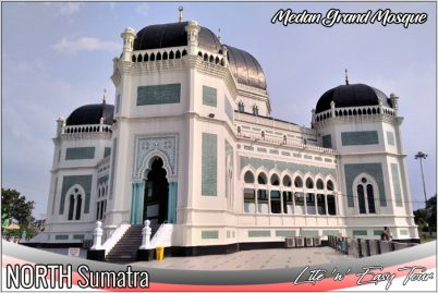Medan Grand (great) Mosque North Sumatra Tourism