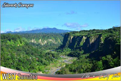 Ngarai Sianok Canyon Bukit Tinggi West Sumatra