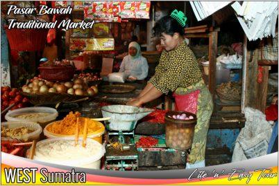 Pasar Bawah Bukit Tinggi Traditional Market West Sumatra
