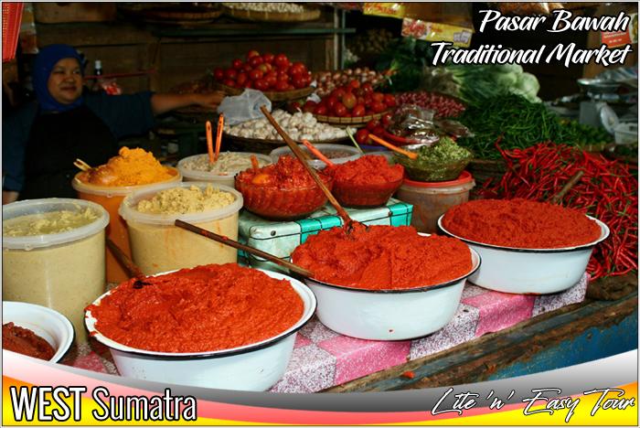 Pasar Bawah Bukittinggi Traditional Market West Sumatra