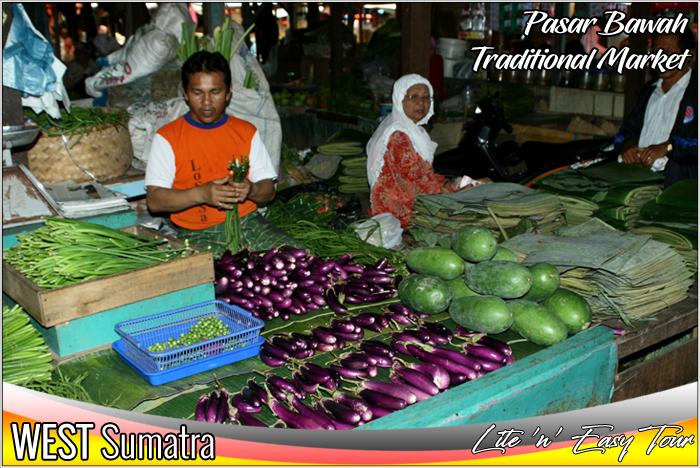 Pasar Bawah Bukittinggi West Sumatra Traditional Market