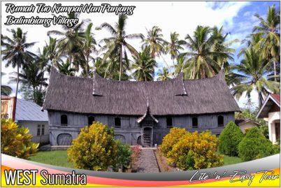 Rumah Tuo Kampai Nan Panjang Nagari Balimbiang Batusangkar West Sumatra