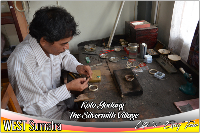 The Silver Smith Village Koto Gadang Bukittinggi West Sumatra
