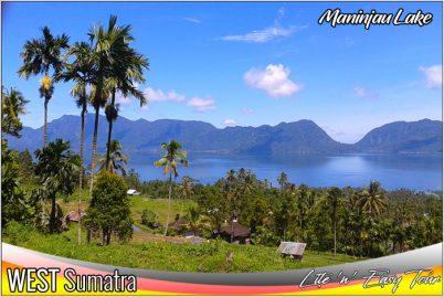 danau maninjau lake bukittinggi padang west sumatera