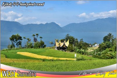 kelok 44 bukittinggi maninjau lake west sumatera